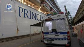 Jedním z ohnisek nákazy koronaviru byla také výletní loď Ruby Princess.
