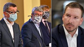 Jan Kubáček o počínání vlády během koronakrize