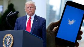 """Twitter poprvé v historii označil Trumpův příspěvek za nepřesný. """"Ověřte si fakta!"""" vyzvala sociální síť."""