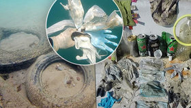 Pracovníci neziskové organizace Čisté moře našli na mořském dně v jihovýchodní Francii odhozené roušky a latexové rukavice. Odhodili je lidé chránící se proti koronaviru.