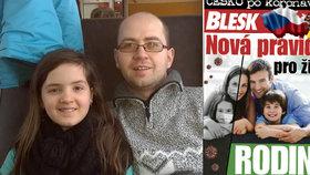 Pendler Radek J. se sám stará o neslyšící dceru : Kvůli krizi jsme bez peněz a bez pomoci!