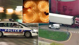 Ve Francii a Belgii zadrželi 26 lidí: Jsou podezřelí ze smrti desítek Vietnamců v kamionu.