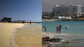 Kdo se tady nakazí, tomu zaplatíme za dovolenou, láká Kypr turisty.