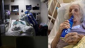 Jennie (103) porazila koronavirus, zotavení oslavila svým milovaným pivem