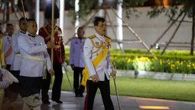 Thajský král Mahá Vatčirálongkón