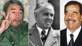 Na čem si nejradši pochutnávali obávaní diktátoři? Castro miloval špagetový salát z úhořů a Husajn trestal za plýtvání jídlem!