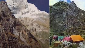 Expedice československých horolezců v Peru v roce 1970.