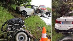 Při tragické nehodě na Královéhradecku zahynuli tři lidé.