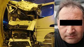 Michal zemřel při nehodě kamionu v Praze.