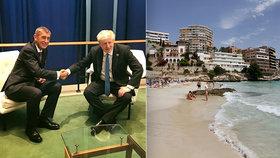 Britský premiér Boris Johnson bude řešit cestování i do Česka. (1. 6. 2020)