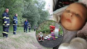 Mrazivé detaily Tadeáškovy (†4 měs.) smrti: Do řeky ho hodila matka?! Mohl být mrtvý už několik dní...
