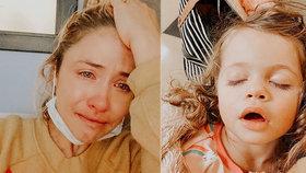 Influencerka a hvězda instagramu Ashley Stocková přišla o dceru.