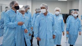 Vacínu proti koronaviru se snaží vyvinout řada laboratoří.