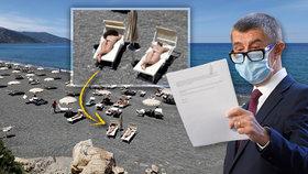 Premiér Andrej Babiš (ANO) a dovolená na Sicílii
