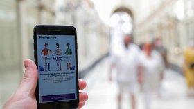 Aplikace na trackování koronaviru ve Francii