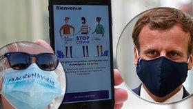 Spuštění aplikace na sledování nakažených koronavirem ve Francii (3. června 2020)