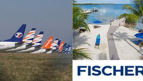 Fischer naštval klienty: Jednají protiprávně, míní dovolenkáři. CK se prostřednictvím Blesku brání