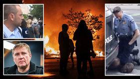 Nepokoje v USA komentuje někdejší zpravodaj ČT Roman Bradáč. (3. 6.2020)