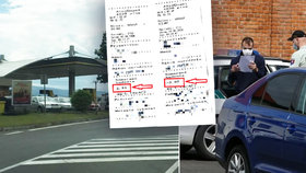 Nezodpovědný řidič mohl způsobit vážnou dopravní nehodu.