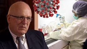 """Bývalý šéf rozvědky MI6 Dearlove se domnívá, že koronavirus byl """"uměle vytvořený"""" a že z laboratoří """"unikl náhodou"""""""