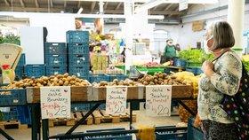 Ceny brambor jsou nyní dost rozdílné. (6. 6. 2020)