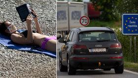 Při cestě do Chorvatska si turisté připlatí za dálniční známku v Rakousku.