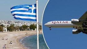 12 cestujících bylo po příletu do Řecka pozitivně testováno na koronavirus. (8. 6. 2020)