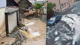 Silné bouřky se do Česka vrátí koncem týdne, o víkendu zahrozí bleskové povodně. Sledujte radar Blesku.