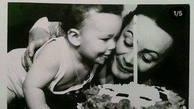 Věra Galatíková s dcerou
