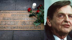 Vyšetřování vraždy švédského premiéra bylo ukončeno, případ zůstává neobjasněn