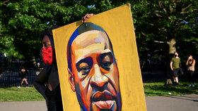 George Floyd se stal symbolem masivních protestů proti rasismu.