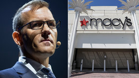 Křetínský rychle vydělal přes miliardu, prodal svůj podíl v řetězci obchoďáků Macy's.