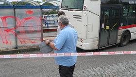 Řidič měl krátce po nehodě na nohou pantofle.