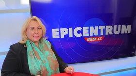 Ministryně pro místní rozvoj Klára Dostálová (za ANO) v Epicentru 11.6.2020