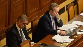 Premiér Andrej Babiš (ANO) v Poslanecké sněmovně