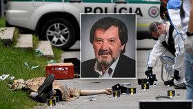 Útok na základní škole na Slovensku. Při útoku zemřel učitel Jaroslav.