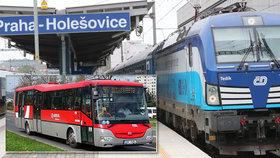 Cestování po Česku se v příštím týdnu vrátí do normálu, informovali dopravci.