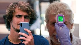 Výrobci mobilních telefonů začínají přidávat i termosenzory (12. 6. 2020)