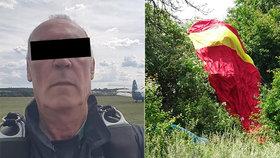 Tragická nehoda při seskoku. Zahynul bývalý paragán!