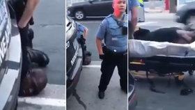 Nové video ze zatčení George Floyda (†46), brutální zákrok policisty vedl k jeho smrti.