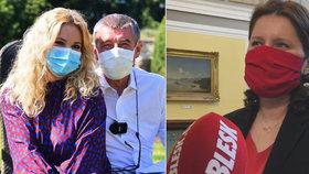 Premiér Babiš (ANO) o víkendu popřál manželce Monice k narozeninám a vyrazil mezi ministry. Ministryně Maláčová (ČSSD) okomentovala návrat na Úřad vlády