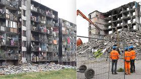 Na nechvalně proslulém košickém sídlišti začala demolice bytovky za 2,5 milionů: Na jejím místě postaví nový dům!