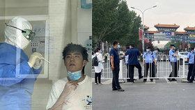 """Peking přijal """"válečná"""" opatření, chce zabránit druhé vlně koronaviru."""