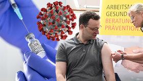 Vakcína na koronavirus: Oscar (21) a Jason (42) jsou ochotní riskovat vlastní život. Muži se nechají dobrovolně infikovat koronavirem.