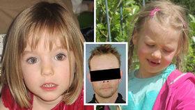 Údajný vrah Maddie možná stojí za zmizením mnoha dětí