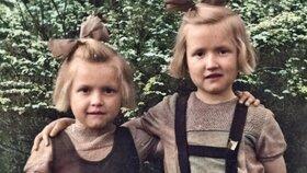 Tříletá Stáňa a pětiletá Mánička patřily mezi internované děti – jejich rodiče Karel Klouda a Marie Kloudová byli popraveni za pomoc parašutistům 24. října 1942 v Mauthausenu