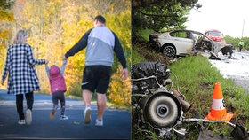 Tragická nehoda u Černožic: Jak je na tom malá Viktorka?