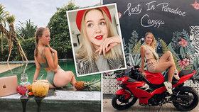 Mladá kráska se stala v patnácti milionářkou: V osmnácti se zabila na motorce.