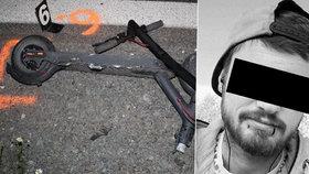 Mladíka (†23) na koloběžce srazil mladík v BMW: Řidič (20) z místa ujel!