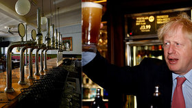 Johnson představil nová opatření, v Anglii si bez uvedení jména pivo neobjednáte. (24. 6. 2020)
